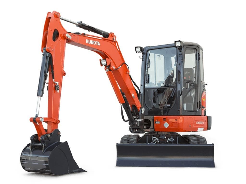 Kubota KX080 Fitted With Remote Control System