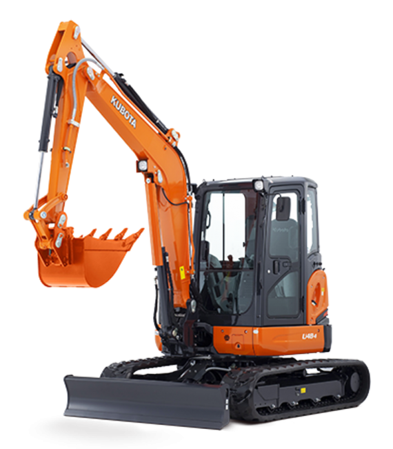 Kubota U48 Fitted With Remote Control System